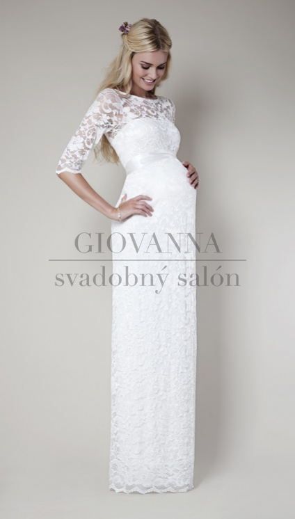 20d54316e0ec Svadobné šaty  Svadobné šaty pre tehotné - Svadobný salón Giovanna