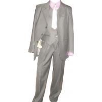 Chlapčenský oblek šedo-stieborný vel. 92-178