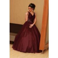 dlhe spoločenské šaty - LX2298 fialové