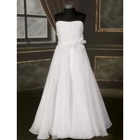 Šaty na prvé sväté prijímanie  - D34 biele