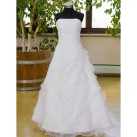 Šaty na prvé sväté prijímanie  - D37 biele