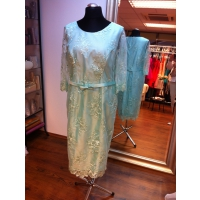 svadobné šaty mentolová farva